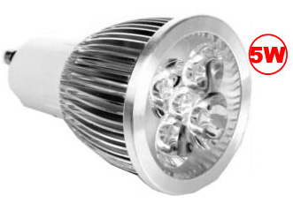 5 Watt LED Spotlight, Bi-Pin, EC-GU10S-5W-LED Lighting-EC-Default-Jayso Electronics