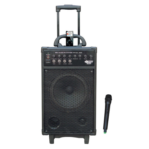 500W VHF Wireless Portable PA System /Echo W/Ipod Dock PWMA860I-Amplifiers & PA Systems-Various-Jayso Electronics