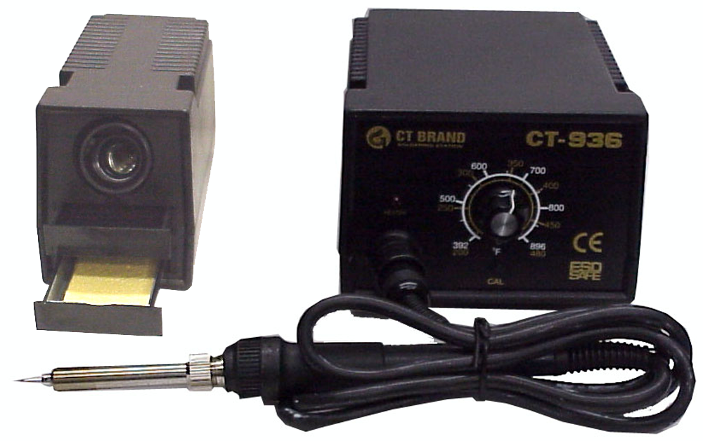 50W Pro Soldering Station, ESD Safe, Temperature Controlled JCT-936ESD-Tools-CT-Jayso Electronics