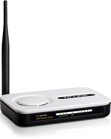 54 Mbps Wireless Router TL-WR340G-Computer & Accessories-Various-Jayso Electronics