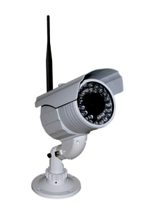 5.8 GHz. Wireless IR Varifocal Video Camera, Weatherproof ZX-580SR205-Security Cameras & Recorders-Various-Jayso Electronics