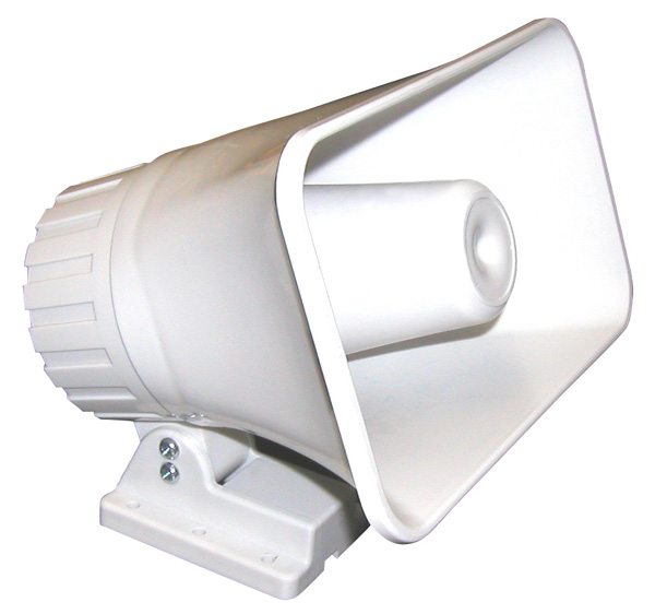 "5""x8"" Compact Horn Siren JAS-85JR-Alarm Systems / Notification Devices-Various-Jayso Electronics"