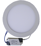 "6 Watt, 4.7"" Round Dimmable LED Panel Light with Driver EC-RPLED-6W-D-LED Lighting-Elyssa Corp.-3500°K-Jayso Electronics"