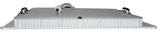 "6 Watt, 4.7"" Square Dimmable LED Panel Light with Driver EC-SPLED-6W-3000K-D-LED Lighting-Elyssa Corp.-Jayso Electronics"