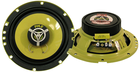 6.5'' 240 Watt Two-Way Round Speakers (Pair) PLG6.2-Automotive Accessories-Various-Jayso Electronics