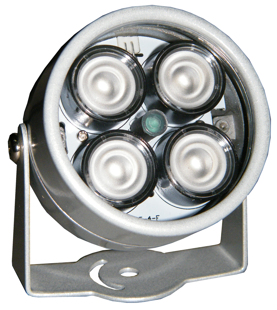 66 Ft. (20 Meter) 4 LED Infrared Illuminator, Indoor/Outdoor ECVD-IR20-Security Cameras & Recorders-EC-Jayso Electronics