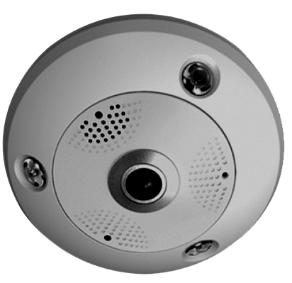 6MP 360° Fisheye HD Digital PTZ Camera w/ IR Illuminator NCA06-FE-Security Cameras & Recorders-Various-Jayso Electronics