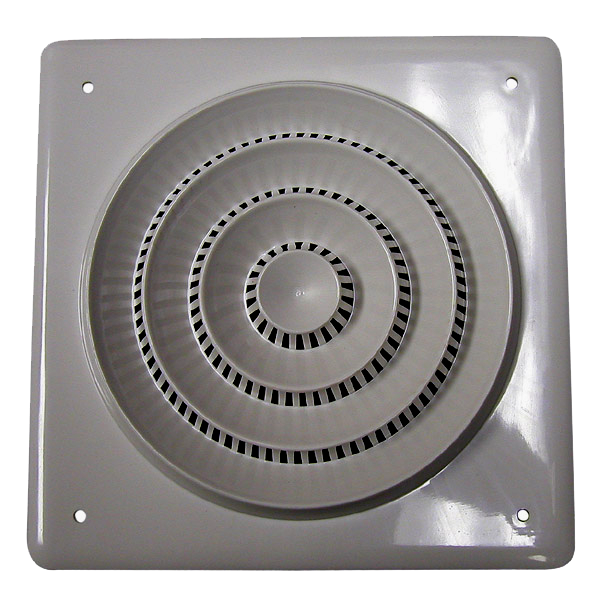 "8"" Ceiling Speaker, Square Grille, 70/25 Volt Transformer, 25 Watt 8910TGVC-Home Theater & Audio-Various-Jayso Electronics"