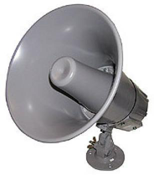 "8"" Indoor/Outdoor Multi-Purpose Paging Horn w/ Built-in Dual Matching Transformer 70V/25V/8 JHS-8T-Amplifiers & PA Systems-Various-Jayso Electronics"