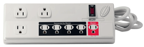 8 Outlet Energy Controlled Surge Protector, Power Managed JPS-101-Tools-Various-Jayso Electronics