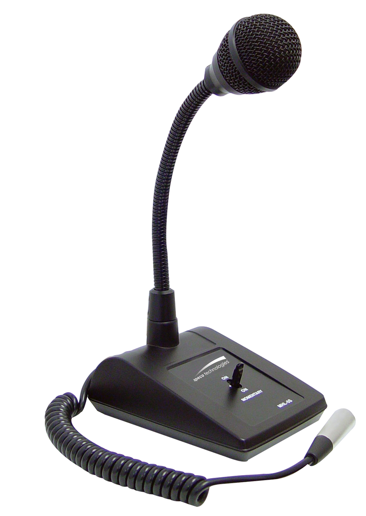 Adjustable Gooseneck Table Stand Microphone JMHL-5S-Amplifiers & PA Systems-Various-Jayso Electronics