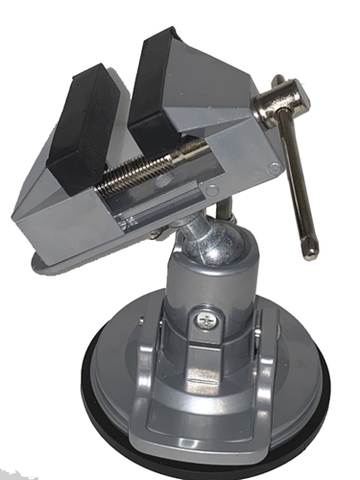 Aluminum Suction Mount Bench Vise JMV-8438MVC