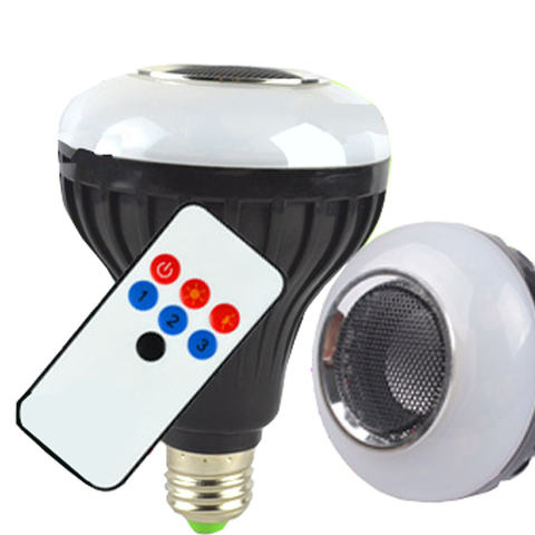 Bluetooth Speaker & LED Light with Wireless Remote Control EC-FLED-BTH-LED Lighting-EC-Jayso Electronics