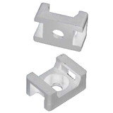 Cable Tie Mounts - Pack of 100 White JCTM-S22MW/100-Wire & Cable-Various-Jayso Electronics