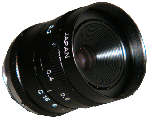 Canon CCTV Lens, 12mm, Manual Iris, CS Mount T01-H848-000-Security Cameras & Recorders-Various-Jayso Electronics