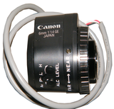 Canon CCTV Lens, 12mm, Video Auto Iris, CS Mount T01 H846 000-Security Cameras & Recorders-Various-Jayso Electronics