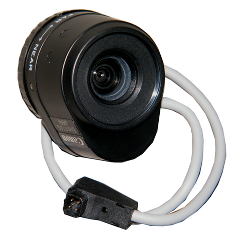 Canon CCTV Lens, 6mm, DC Auto Iris, CS Mount T01 H860 000-Security Cameras & Recorders-Various-Jayso Electronics