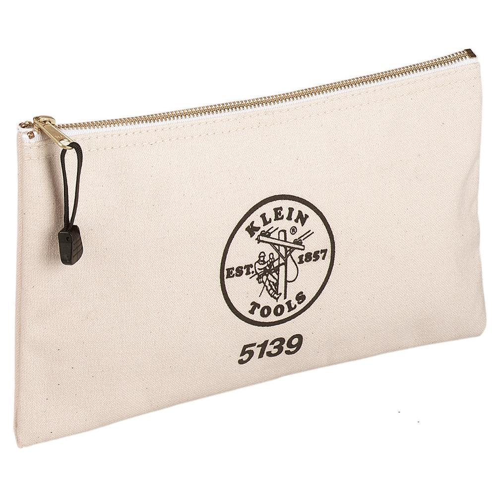 Canvas Zipper Bag, Klein - JTP-5139-Tools-Klein-Jayso Electronics