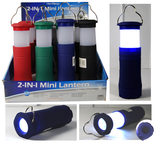 Combination LED Flashlight/Mini Lantern 9027WL-Tools-Various-Jayso Electronics