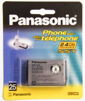 Cordless Telephone Battery, Panasonic, Type 25, HHR-P103A/1B-Batteries, Power Supplies, & Transformers-Panasonic-Default-Jayso Electronics