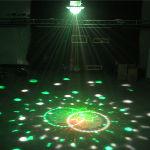 Cosmic Lights Disco Ball JLED-MBCL20W-DJ & Party Equipment-Jayso Electronics-Jayso Electronics