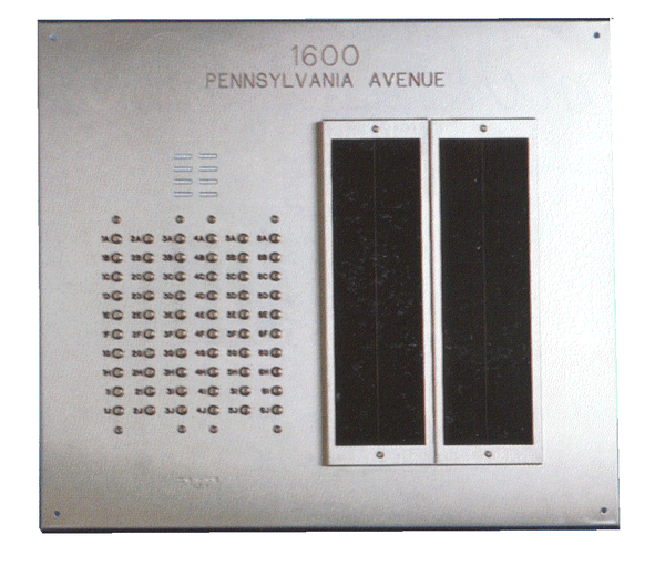 Custom Built Lobby Panel For Apartment Entry Intercom