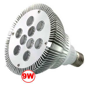 Dimmable 9 Watt LED PAR 38 Reflector Floodlight JE-PARLED9W-LED Lighting-Jayso Electronics-Jayso Electronics