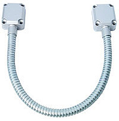 "Door Cord Armor, Flexible 18"" with Metal Junction Box End Caps ADC-2-Alarm Systems-Various-Jayso Electronics"