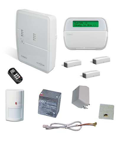 DSC 32-Zone Self Contained Wireless Alarm System Kit-Alarm Systems-DSC-Default-Jayso Electronics