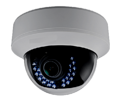 HD TVI 1080P Outdoor Vandalproof IR Dome Camera JTVI-HVVD-1080-Security Cameras & Recorders-Various-Jayso Electronics