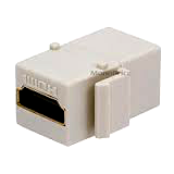 HD Video (HDMI) Jack Keystone Snap-In Insert Module KJHD-WT-Network & Computing-Various-Jayso Electronics