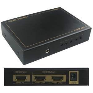 HDMI 2-Way Video Splitter JVS-HDMI2-Home Theater & Audio-Various-Jayso Electronics