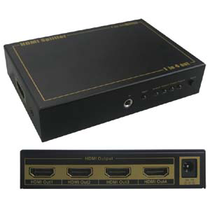 HDMI 4-Way Video Splitter JVS-HDMI4-Home Theater & Audio-Various-Jayso Electronics