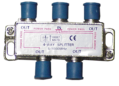 High Quality Signal Splitter Combiner 1000 Mhz Coaxial
