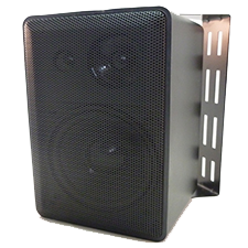 Indoor/Outdoor 3-Way Mini Speaker System (Pair) SB-200-Home Theater & Audio-Various-Black-Jayso Electronics