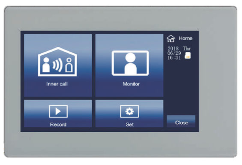 "IP Video Entry Intercom Additional 7"" Indoor Monitor Station ECVI-D700M-2W-IP-Intercom Systems-Various-Jayso Electronics"