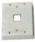 Keystone Outlet Plate - Multi Port, Surface Mount KWPXS-Network & Computing-Various-1-Jayso Electronics