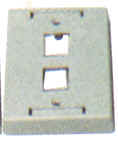 Keystone Outlet Plate - Multi Port, Surface Mount KWPXS-Network & Computing-Various-2-Jayso Electronics