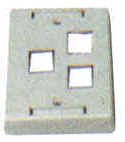 Keystone Outlet Plate - Multi Port, Surface Mount KWPXS-Network & Computing-Various-3-Jayso Electronics