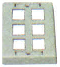 Keystone Outlet Plate - Multi Port, Surface Mount KWPXS-Network & Computing-Various-6-Jayso Electronics