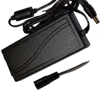 Laptop Style Power Supply, 24 Volt DC, 4 Amp, Plug-In, Regulated EPS24-4A-B-Batteries, Power Supplies, & Transformers-Elyssa Corp.-Jayso Electronics