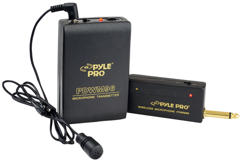 Lavalier Wireless Microphone System PDWM96-Amplifiers & PA Systems-Soundaround-Default-Jayso Electronics