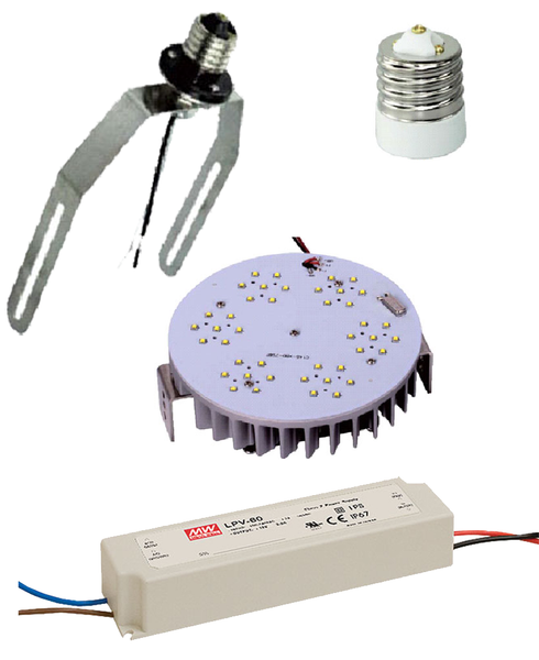 Led Round Retrofit Replacement Kits For Metal Halide