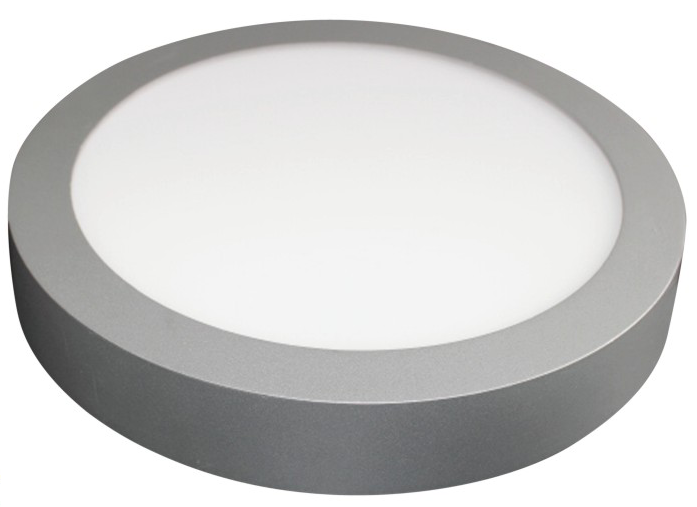 "LED Surface Mt. Panel Light with Driver, 12 Watt, 9"" (230mm), Round EC-LED-SDL-12RD-3000-LED Lighting-Elyssa Corp.-Jayso Electronics"