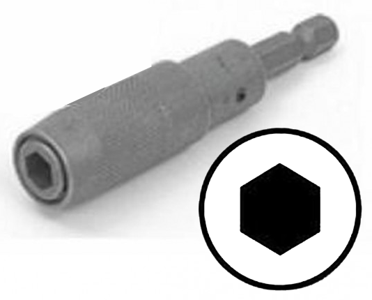 "Magnetic Quick Disconnect 1/4"" Hex Insert & Power Bit Holder JEZ-85150-Tools-Various-Jayso Electronics"