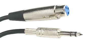 "Microphone Cable, 25' Male 1/4"" to Female XLR JMC-25XF4-Amplifiers & PA Systems-Various-Jayso Electronics"