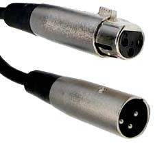 Microphone Cable, 6' Female to Male XLR JMC-06XFM-Amplifiers & PA Systems-Various-Jayso Electronics