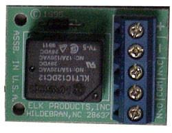 Mini 12 VDC High Current Relay Module, ELK-912-Timers & Relays-Elk-Single-Jayso Electronics