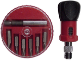Mini Ratchet Screwdriver Set, Reversible, With Magnetic Bit Holder JRD-3015C-Tools-Various-Jayso Electronics