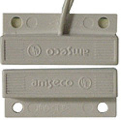 Mini Surface Mount Magnetic Reed Contact With Snap-Off Mounting Tabs, White JMS-10W-Alarm Systems-Various-Default-Jayso Electronics